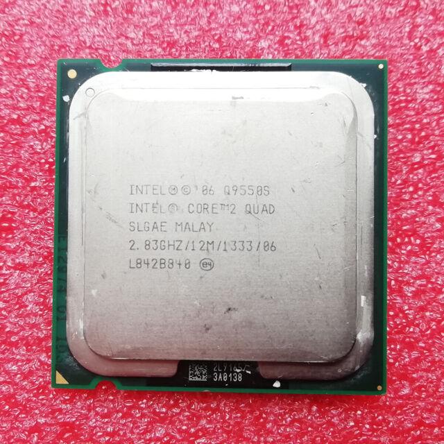 Intel Core 2 Quad Q9550S 2.83GHz Quad-Core LGA775 CPU Processor
