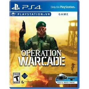 Operation-Warcade-PlayStation-4-PS4-VR-Virtual-Reality-NEW