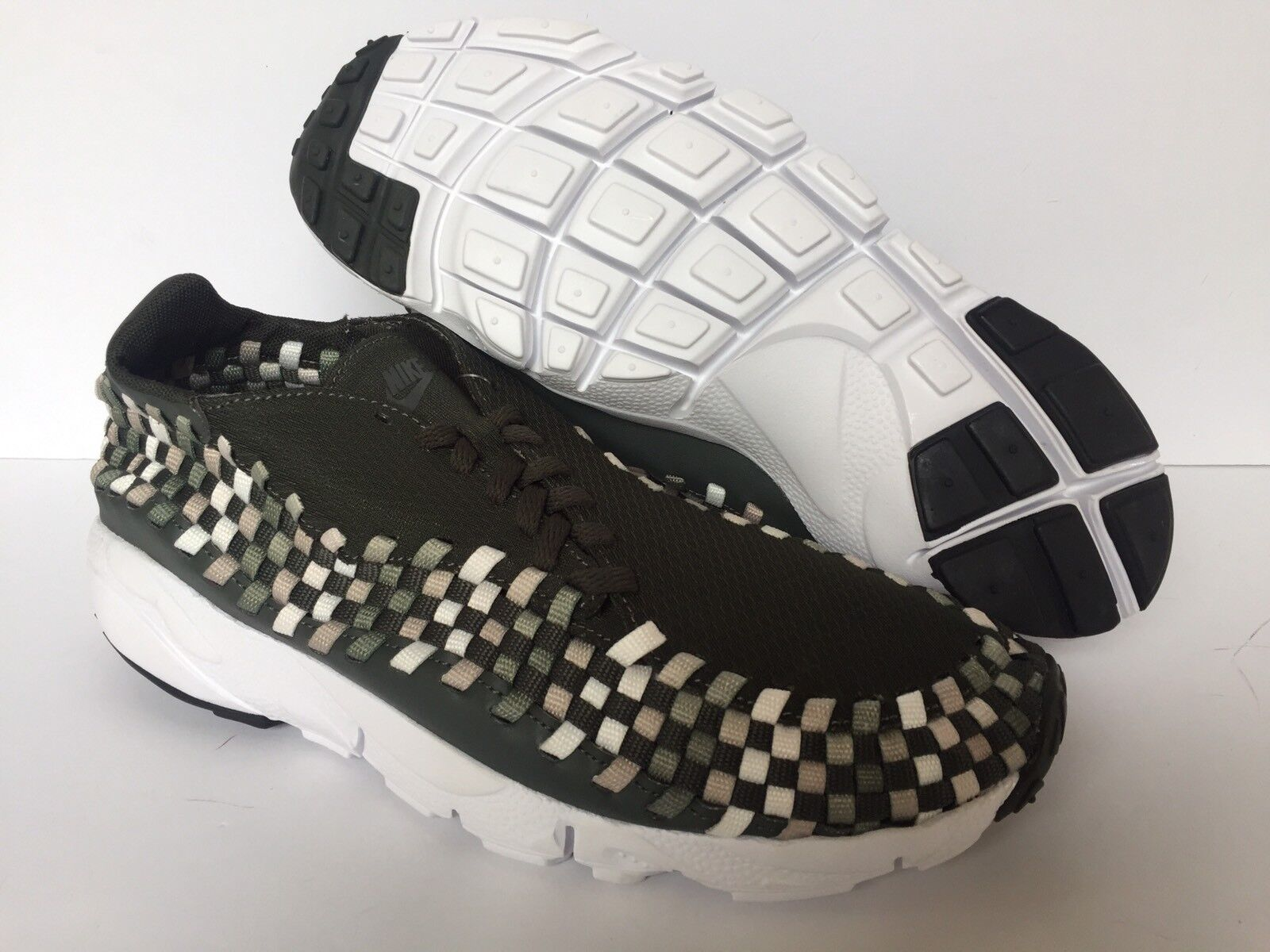 NIKE AIR FOOTSCAPE Donna NM Seqouia US N SZ 9 NEW  SAMPLE