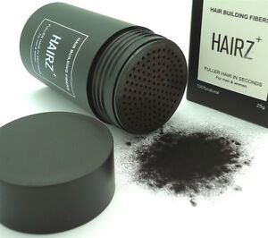 HAIRZ+ Hair Building Fiber Hair Loss Concealer Alopecia Baldness Or Hair Loss