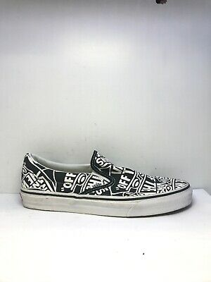 The Wall Repeat Pattern Slip On