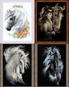 RIOLIS-Horses-Counted-Cross-Stitch-Kits