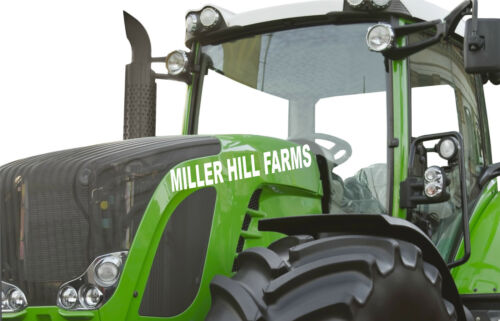High Quality Vinyl Stickers Contractor Farm Decals Custom Company