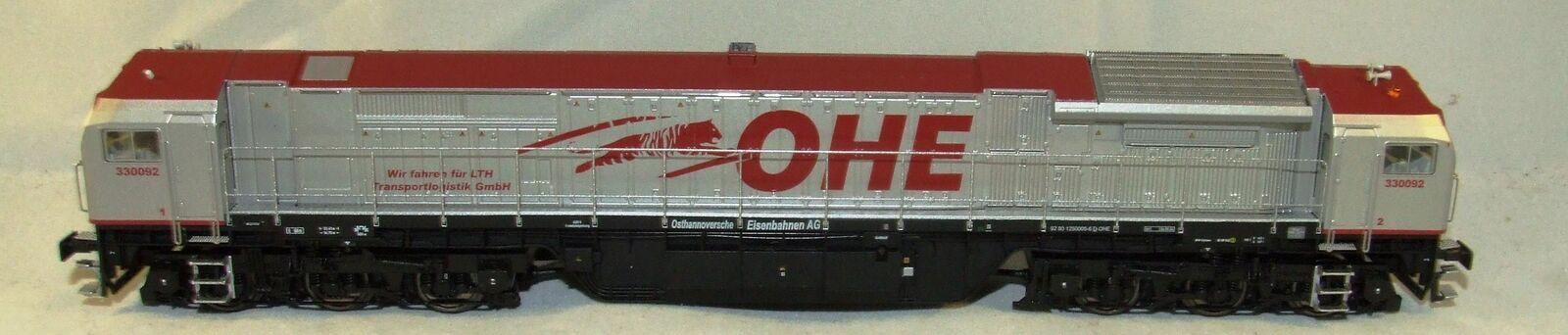 Mehano Ho 93461 Locomotora Diésel rojo Tigre de Ohé Digital de 3 Conductores