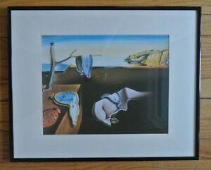 Frame-Surrealism-Salvador-Dali-Print-034-Persistence-of-Memory-034