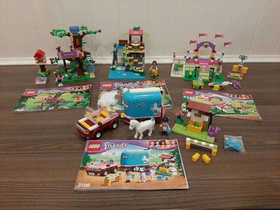 Lego Friends, 3942, 3065