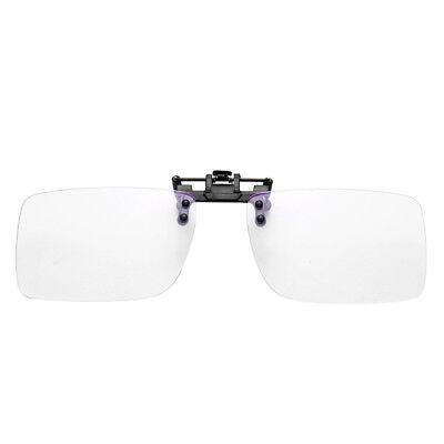 Clip On Blue Light Filter Blocking Glasses Office Computer Anti UV Strain Relief