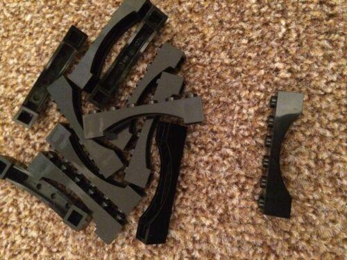 Black LEGO Arches Bridges Curved Bricks *Cheapest on FAST FREE POST