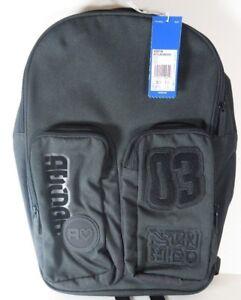 Image is loading Adidas-BQ8126-Classic-Badge-Backpack-Black-Urban-Street- 45bfd1c2f027c