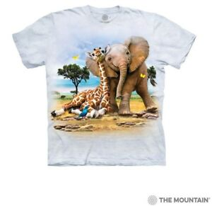 The Mountain 100/% Cotton Kids T-Shirt Tee DJ Peace S-M-XL Made in USA NWT
