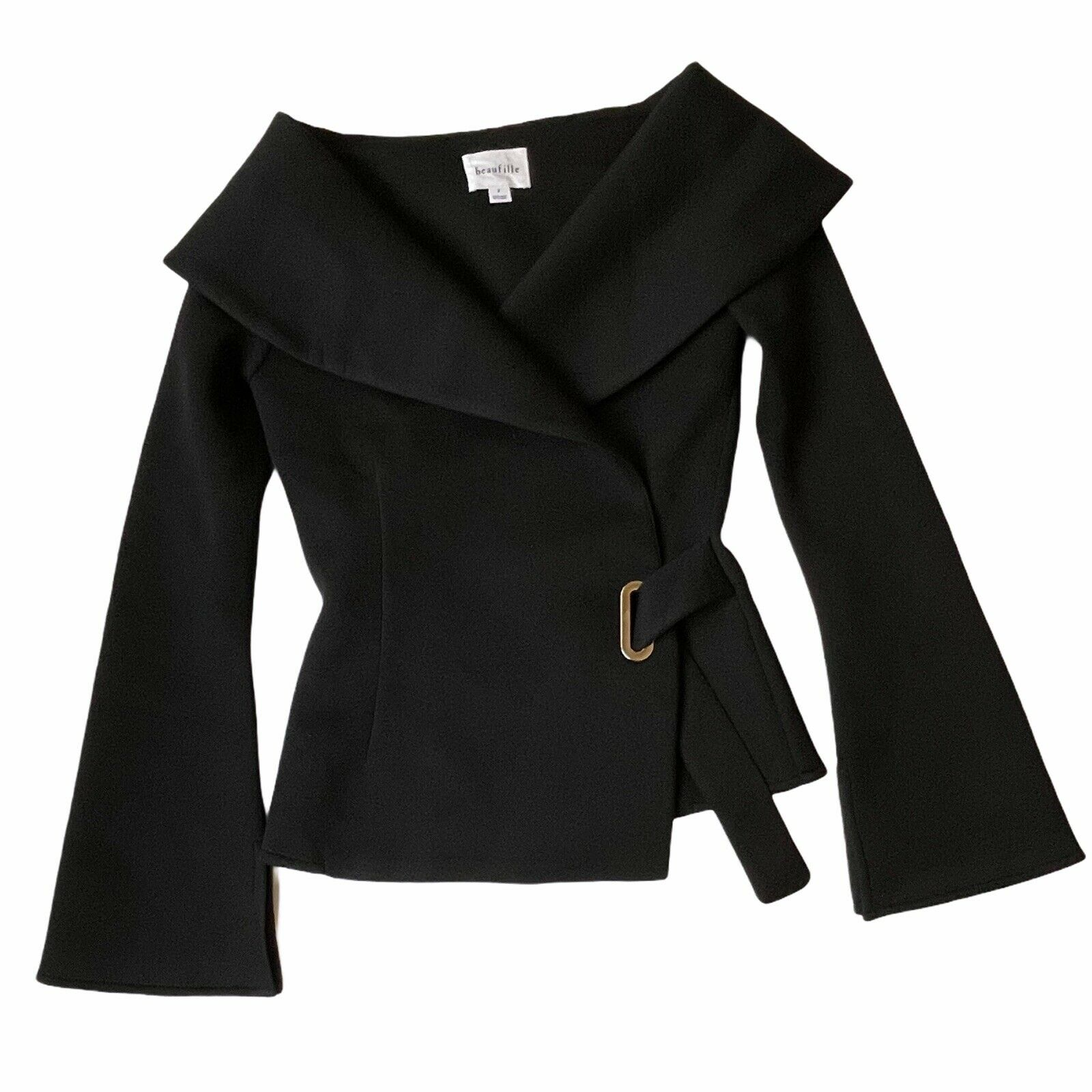 Beaufille Women's Clothing Size 2 Black Large Col… - image 3