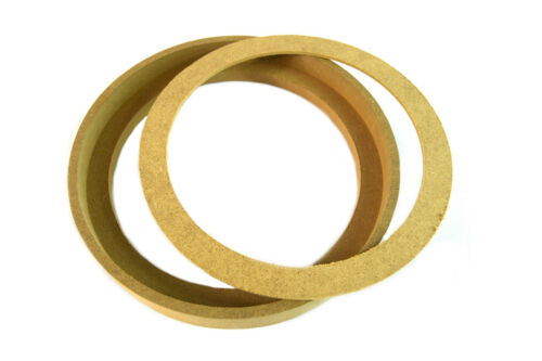 "1 Pair 6.5/"" RING-6.5BZ MDF Speaker Ring Recess With Bezel MOUNTING SPACER"