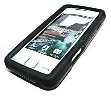 Silikon TPU Handy Cover Case Hülle Schale in Schwarz für Samsung S5260 Star 2