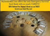 Non-hybrid, Non-gmo, Heirloom Seeds Best On Ebay Emergency Survival Seed Vault