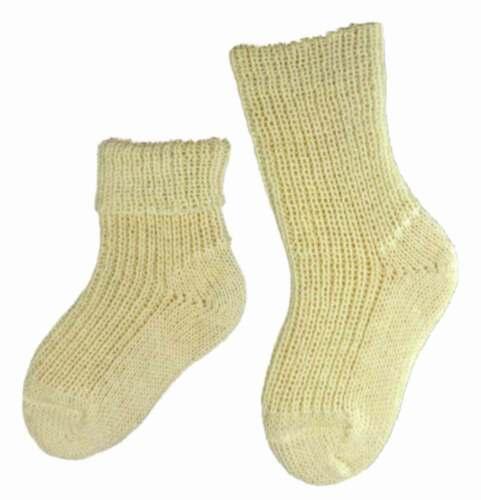 Baby Kinder Socken 100/% Wolle superwash