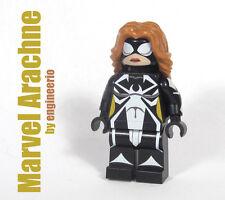 LEGO Custom - Arachne - Marvel Spiderman Super heroes Rogue mini figure