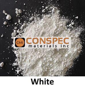 3 Lbs WHITE Powdered Concrete Color Pigment Cement Plaster Grout Mortar Colorant