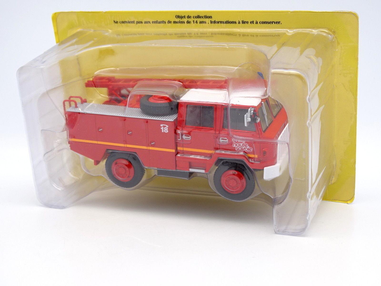 Ixo stampa camion vigili del fuoco 1   43 - berliet ff 4x4
