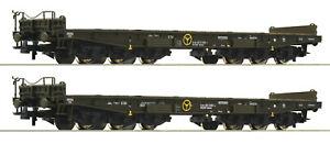 ROCO-h0-76074-poids-lourds-Set-034-salmms-034-de-la-Deutsche-Bundeswehr-NEUF-neuf-dans-sa-boite
