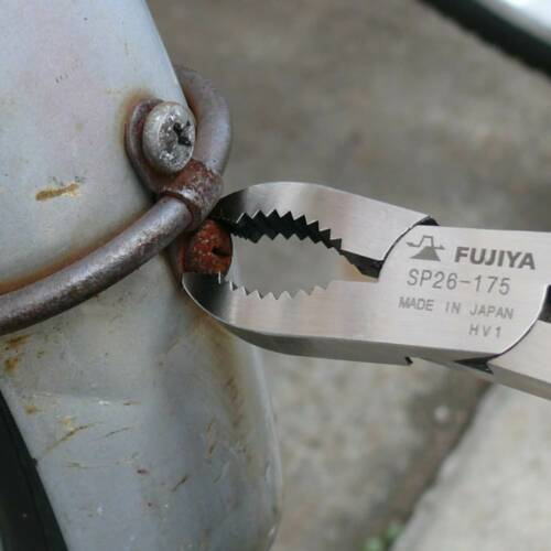 FUJIYA Screw Remover Pliers Collapsed Screw Made in Japan SP26-175