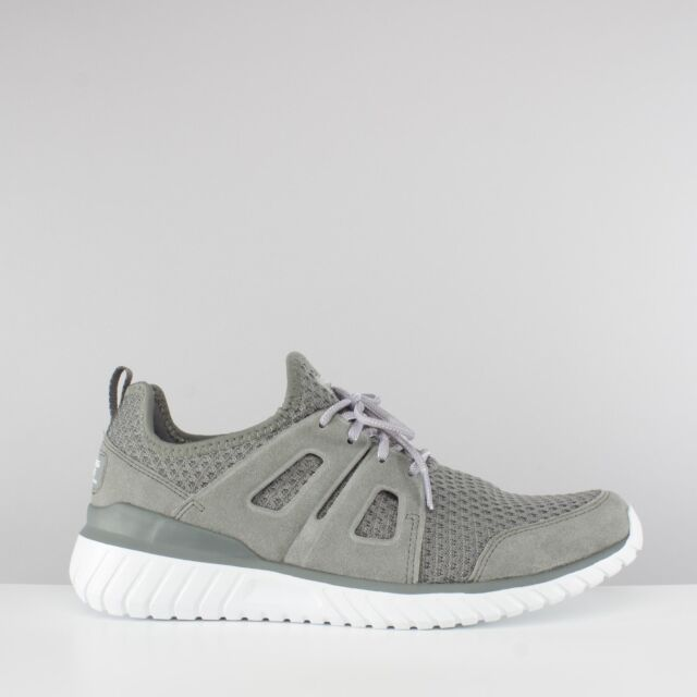 f2ab8b33e5849 Skechers ROUGH CUT Mens Leather/Mesh Athletic Sports Gym Running Trainers  Shoes
