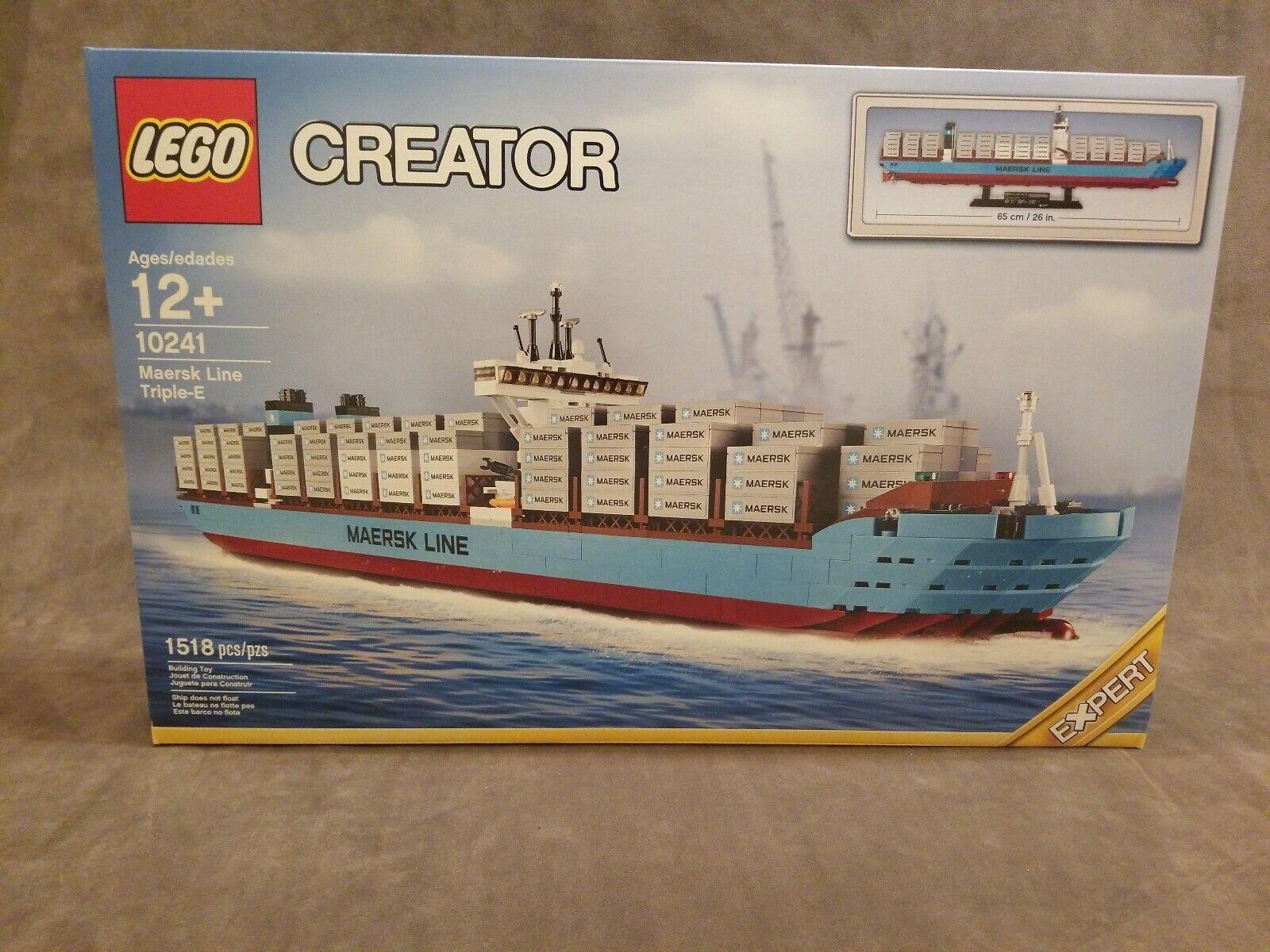 Lego Skapare - Sällsynt - Maersk Line Triple -E 10241 - New & Sealerad.