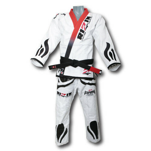 RIZIN × ISAMI Jiu jitsu gi dogi uniform God of fighting model Shipping from JPN