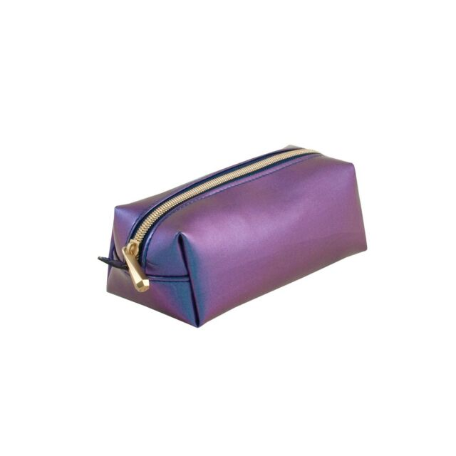 NWT Sonia Kashuk IRIDESCENT Pencil Cosmetic Travel Bag