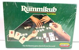 Travel-Edition-of-Rumminkub-New-in-Package-Boardgame-Spear-039-s-Game
