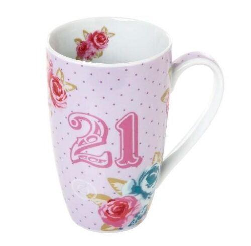 Me to You Tatty Teddy Bear Happy 21st Birthday Mug