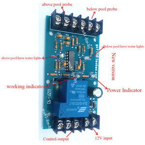 image is loading dc 12v liquid level controller water level detection