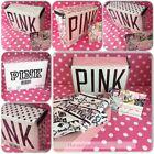 Victoria's Secret PINK Dorm Bed Bedding Sheets Pillowcase Bag Set NWT TWIN