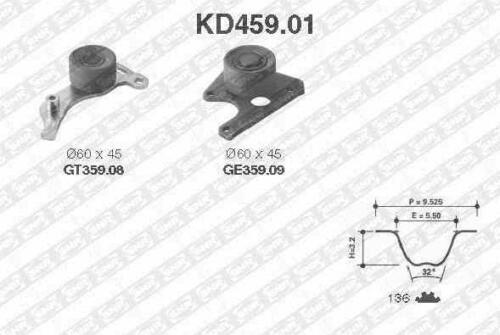 1.9 TD 90 CH 7E, N3, N5 Kit Distribution KD45901 SNR PEUGEOT 306 Break