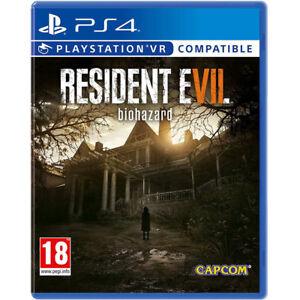 Resident-Evil-7-Biohazard-Jeu-Video-pour-Sony-PS4-Psvr-Consoles-de-Jeux