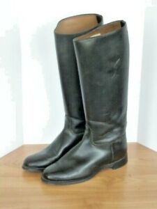 Vintage Equestrian Riding Boots leather  women's 7.5C  USA made