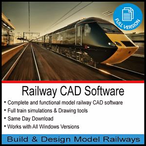 RAILWAY-CAD-SOFTWARE-2020-PRO-BUILD-amp-DESIGN-TRACK-MODELS-HORNBY-OO-GAUGE