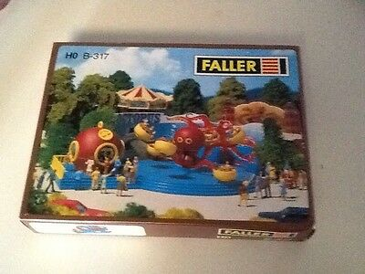 Faller B-317 HO Scale Electric Carnival Ride Octopus NIB NEVER ASSEMBLED