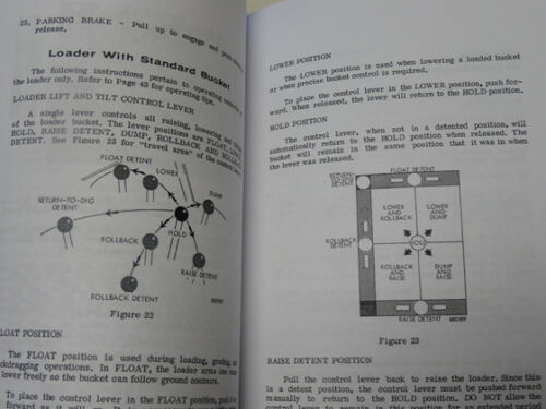 Case 680B//680CK B Loader Backhoe Operators Manual Owners Maintenance Book NEW