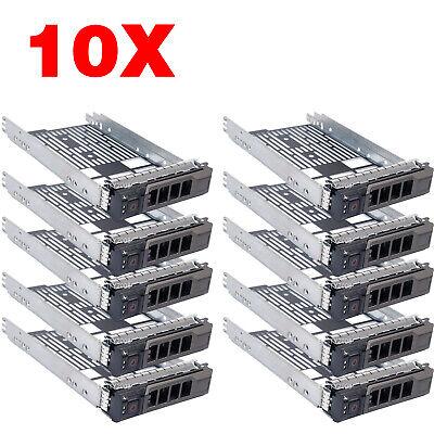"New 3.5/"" SAS SATA Hard Drive Tray Caddy For Dell PowerEdge R520 0G302D US Seller"