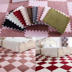 6Pcs-Set-Fluffy-Jigsaw-Foam-Puzzle-Rug-Anti-Skid-Bedroom-Area-Carpet-Floor-Mat