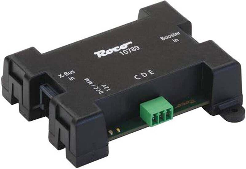 Roco Digital Z21 CDE Booster Adaptor N HO OO O G1 G Gauge RC10789