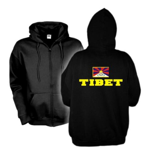 Veste capuche Tibet Flagshirt Zip Hoodie FAN Sweatjacke s-6xl wms02-63e