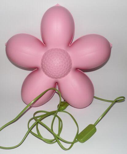 Ikea Lampe Smila Blomma Blume Rosa Wandlampe Leuchte Wandleuchte Kinderlampe b