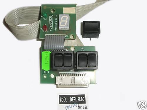 Viessmann Leiterplatte Display Schalter EUROLA  7405781