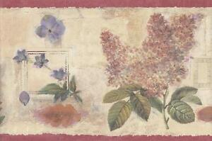 Wallpaper-Border-Watercolor-Floral-Collage-Flowers-Leaves-Script