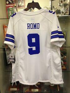 Tony Romo Cowboys Womens Large Game Nike Jersey NEW w/tags | eBay