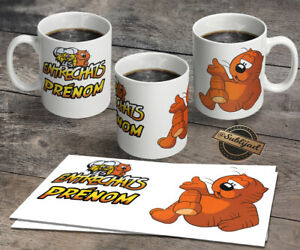 Mug tasse incassable Dauphin personnalisé avec prénom