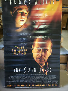 The Sixth Sense 1999 Rolled 26x40 Dvd Promotional Poster Ebay