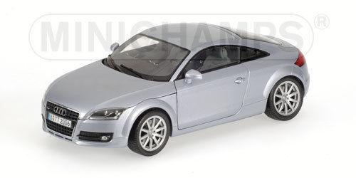 mas barato Minichamps Audi TT – 2006 2006 2006 – Plataazul metallic - 1 18  tomamos a los clientes como nuestro dios