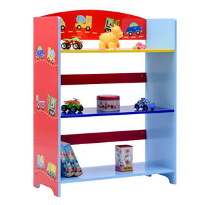 Image Is Loading Kids Children Toy Storage Book Shelf Bookcase Rack